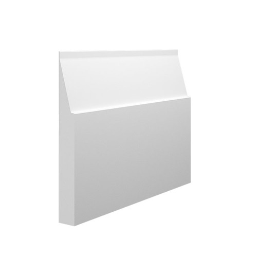 Large Gradient MDF Skirting Board Sample - 145mm x 18mm HDF