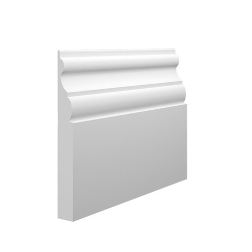 Madrid MDF Skirting Board Sample - 145mm x 18mm HDF