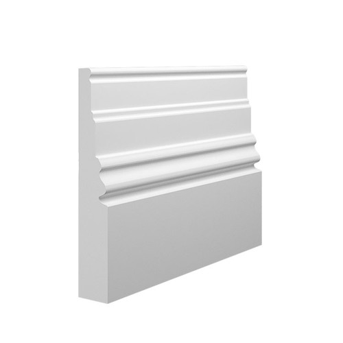 Monarch 1 MDF Skirting Board Sample - 145mm x 25mm HDF