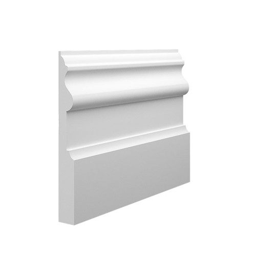 Period MDF Skirting Board Sample - 145mm x 18mm HDF