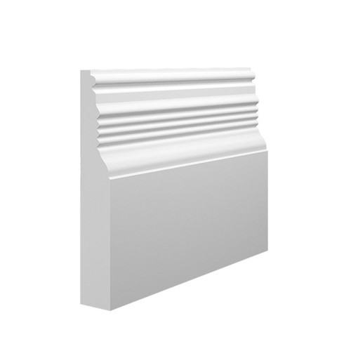 Pioneer MDF Skirting Board Sample - 145mm x 25mm HDF