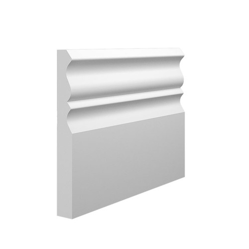 Profile 3 MDF Skirting Board Sample - 145mm x 18mm HDF
