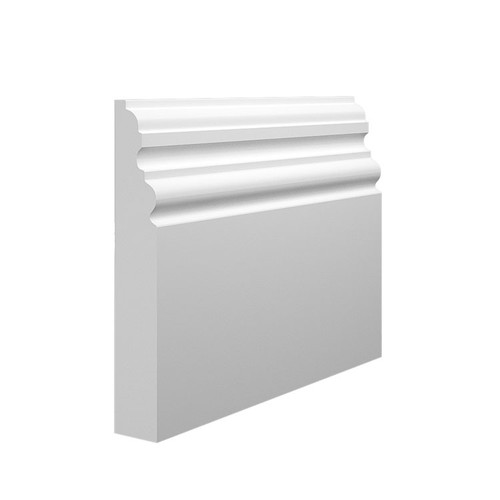 Regal MDF Skirting Board Sample - 145mm x 25mm HDF