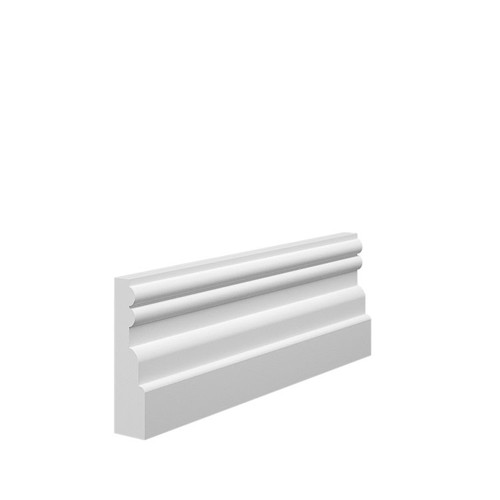 Reeded 2 MDF Architrave Sample - 70mm x 18mm HDF