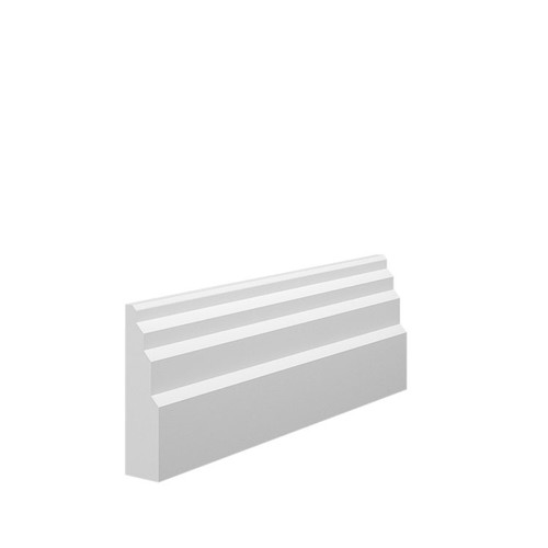 Stepped 1 MDF Architrave Sample - 70mm x 18mm HDF