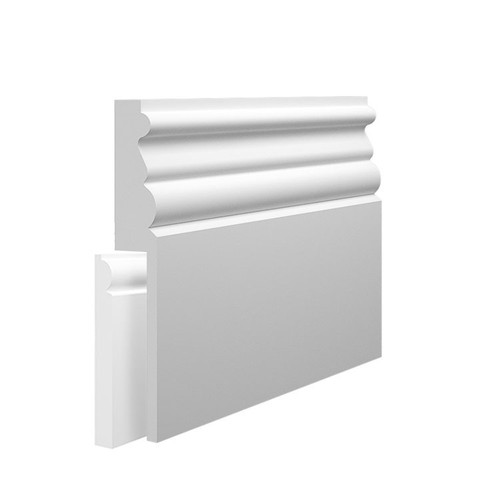 Athens MDF Skirting Board Cover over existing skirting