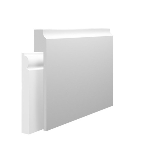 Edge 1 MDF Skirting Board Cover over existing skirting