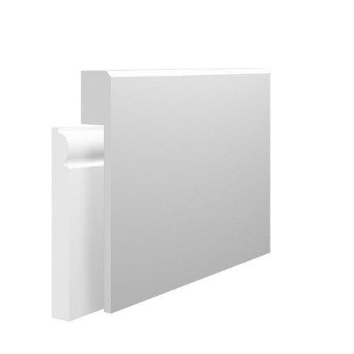 Edge 2 MDF Skirting Board Cover over existing skirting