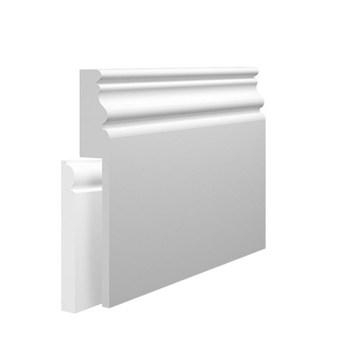 Elegance MDF Skirting Board Cover over existing skirting