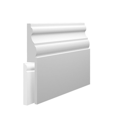 Madrid MDF Skirting Board Cover over existing skirting