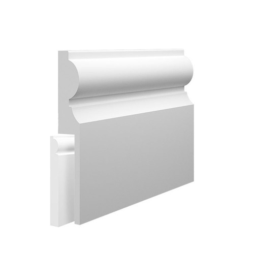 Milan MDF Skirting Board Cover over existing skirting