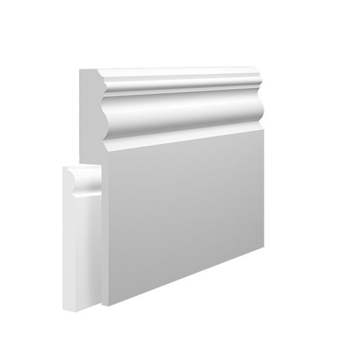 Mini Vienna MDF Skirting Board Cover over existing skirting