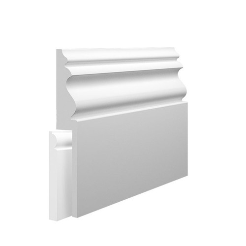 Monza MDF Skirting Board Cover over existing skirting