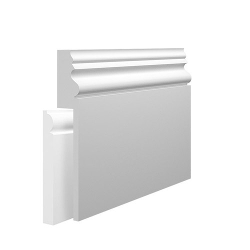 Stuart MDF Skirting Board Cover over existing skirting