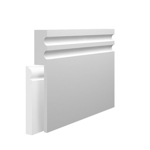 Stylish MDF Skirting Board Cover over existing skirting