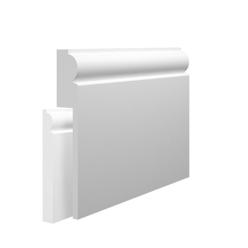 Torus Type 1 MDF Skirting Board Cover over existing skirting