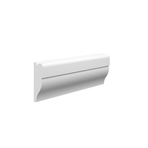 Lambs Tongue 2 MDF Picture Rail - 60mm x 18mm