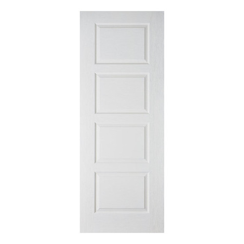 Moulded Contemporary White Internal Door