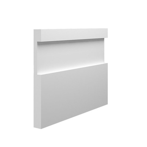 Abbey MDF Skirting Board - 145mm x 15mm HDF
