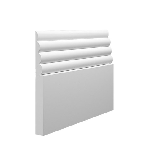 Cloud MDF Skirting Board - 145mm x 15mm HDF