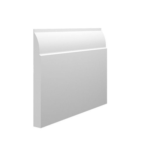 Mini Ovolo MDF Skirting Board - 145mm x 15mm HDF