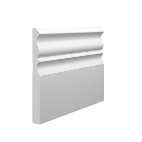 Profile 3 MDF Skirting Board - 145mm x 15mm HDF