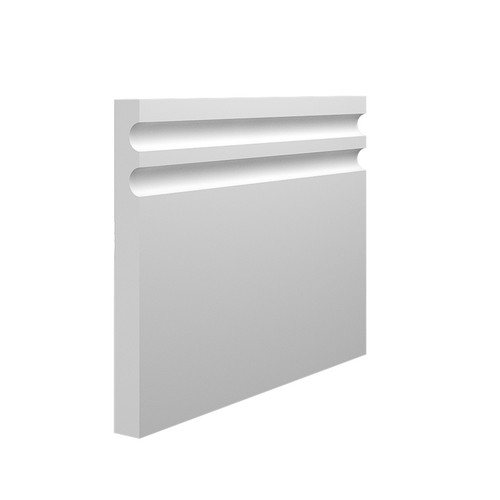Stylish MDF Skirting Board in 15mm HDF