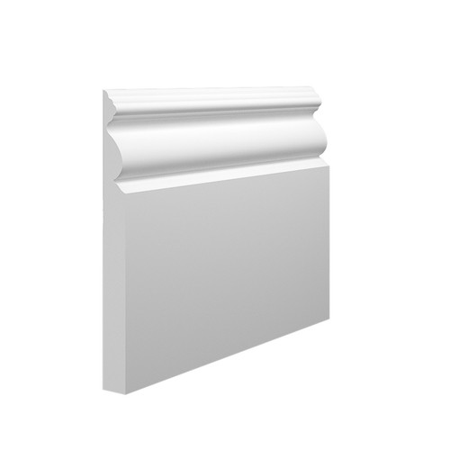 Victorian 1 MDF Skirting Board in 15mm HDF