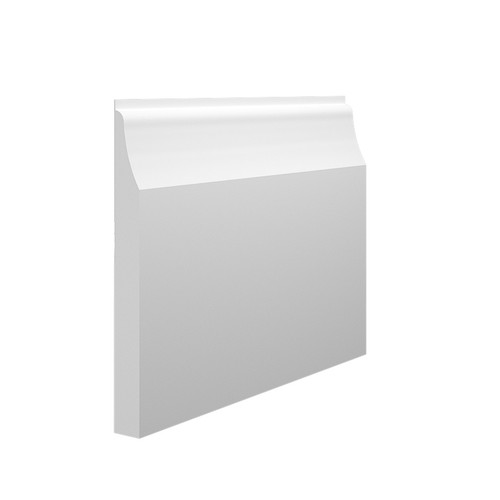 Wave 1 MDF Skirting Board in 15mm HDF