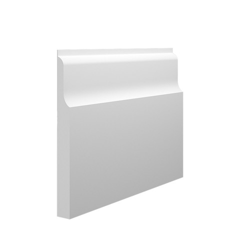 Wave 2 MDF Skirting Board in 15mm HDF