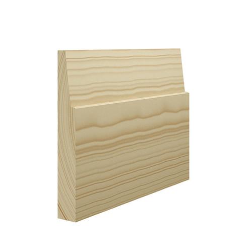 Bevelled Pine Skirting Board - 144mm x 21mm