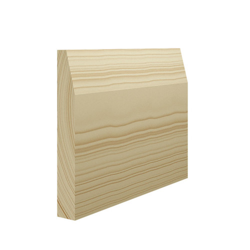 Chamfer Pine Skirting Board - 144mm x 21mm
