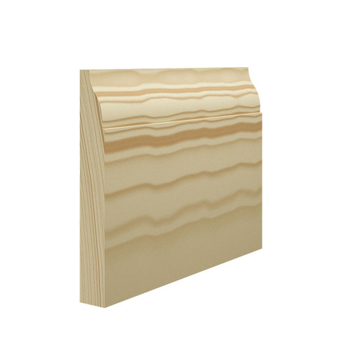 Lambs Tongue 2 Pine Skirting Board - 144mm x 21mm