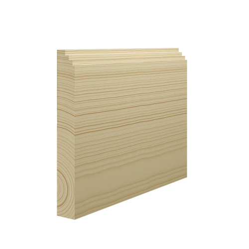 Mini Stepped Pine Skirting Board - 144mm x 21mm