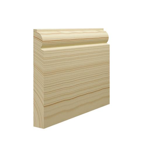 Mini Torus Pine Skirting Board - 144mm x 21mm