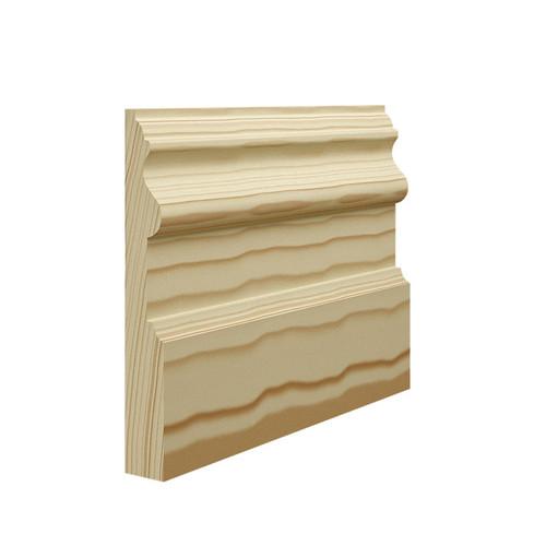 Period Pine Skirting Board - 144mm x 21mm