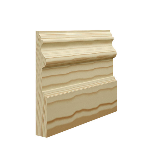 Period Pine Skirting Board - 144mm x 21mm