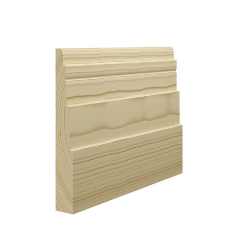 Rome Pine Skirting Board - 144mm x 21mm