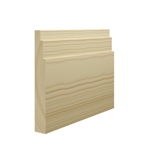 Stepped 3 Pine Skirting Board - 150mm x 21mm