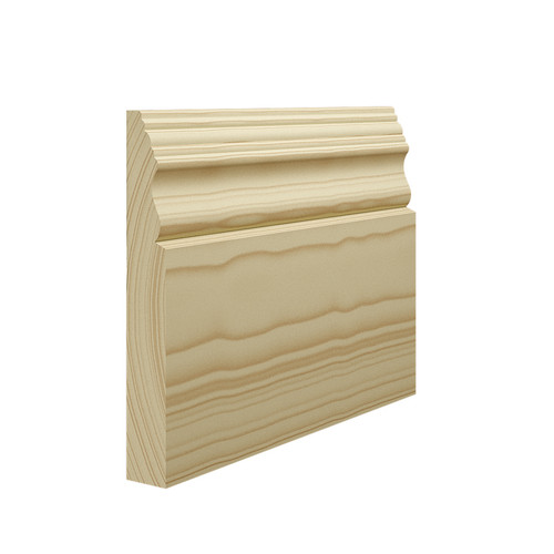 Victorian 2 Pine Skirting Board in 21mm Thickness