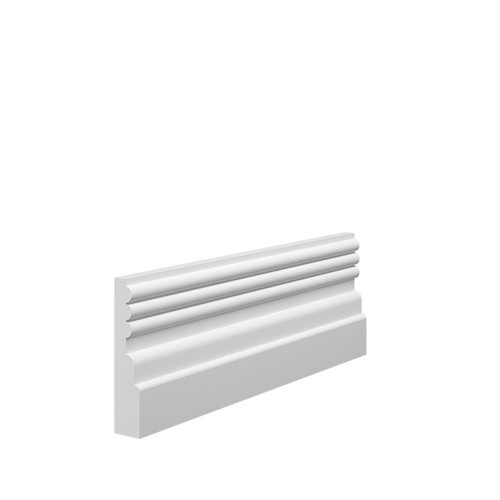 Reeded 3 MDF Architrave - 70mm x 15mm HDF