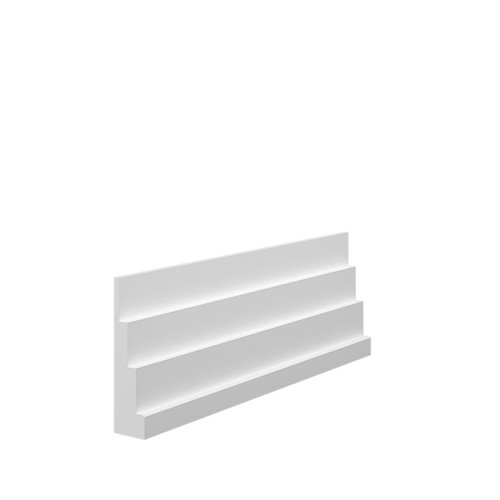 Stepped 4 MDF Architrave in 18mm HDF
