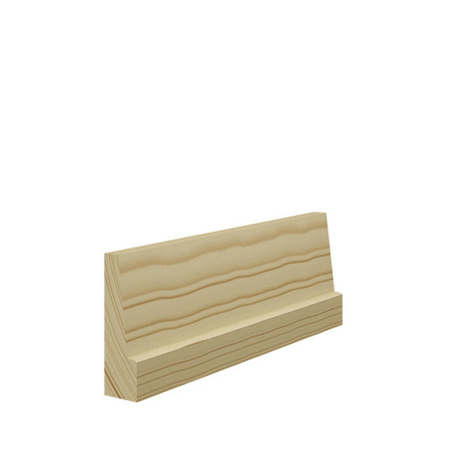 Bevelled Pine Architrave - 69mm x 21mm