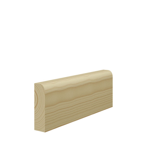 Bullnose Pine Architrave - 69mm x 21mm