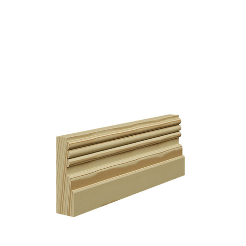 Reeded 3 Pine Architrave - 69mm x 21mm