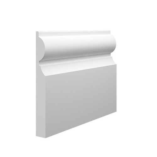 Milan MDF Skirting Board Sample - 145mm x 18mm HDF