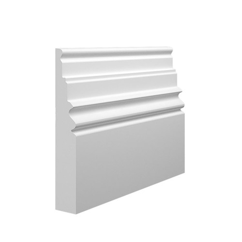 Monarch 2 MDF Skirting Board Sample - 145mm x 25mm HDF