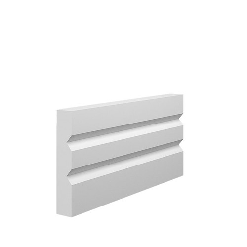 Queen MDF Architrave Sample - 95mm x 18mm HDF