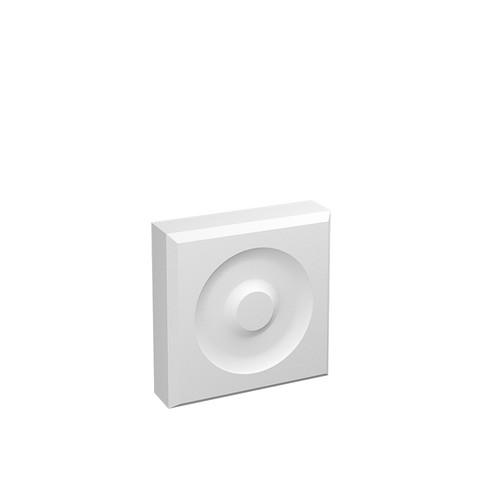 MDF Rosette Block P3 in 25mm HDF