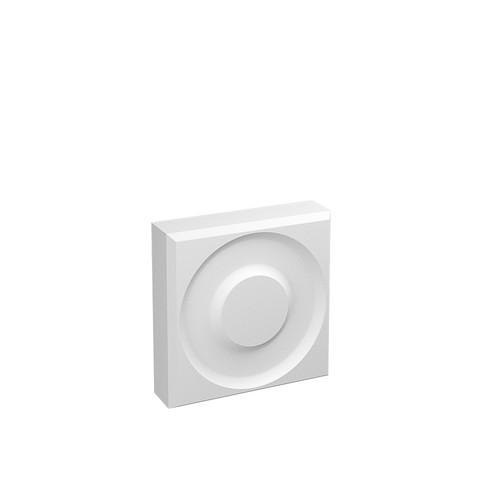 MDF Rosette Block P4 in 25mm HDF